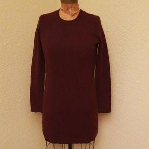 NWT WOMENS BURGUNDY POLO RALPH LAUREN DRESS XS